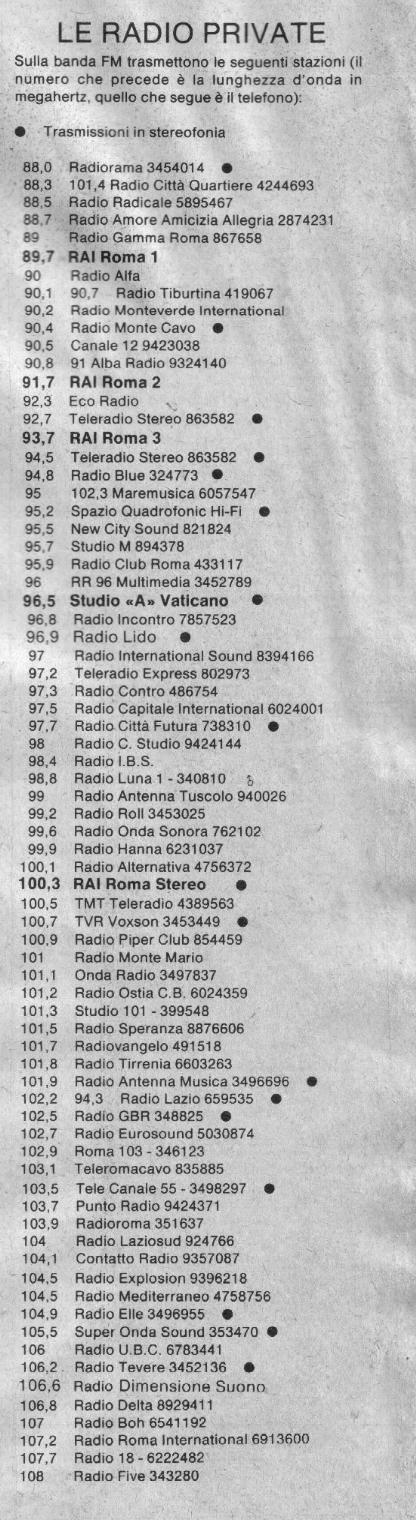 quadrifonia 3 1 - Radio, tecnologia. La quadrifonia: il misterioso oggetto dei desideri degli audiofili che stimolò anche qualche broadcaster visionario