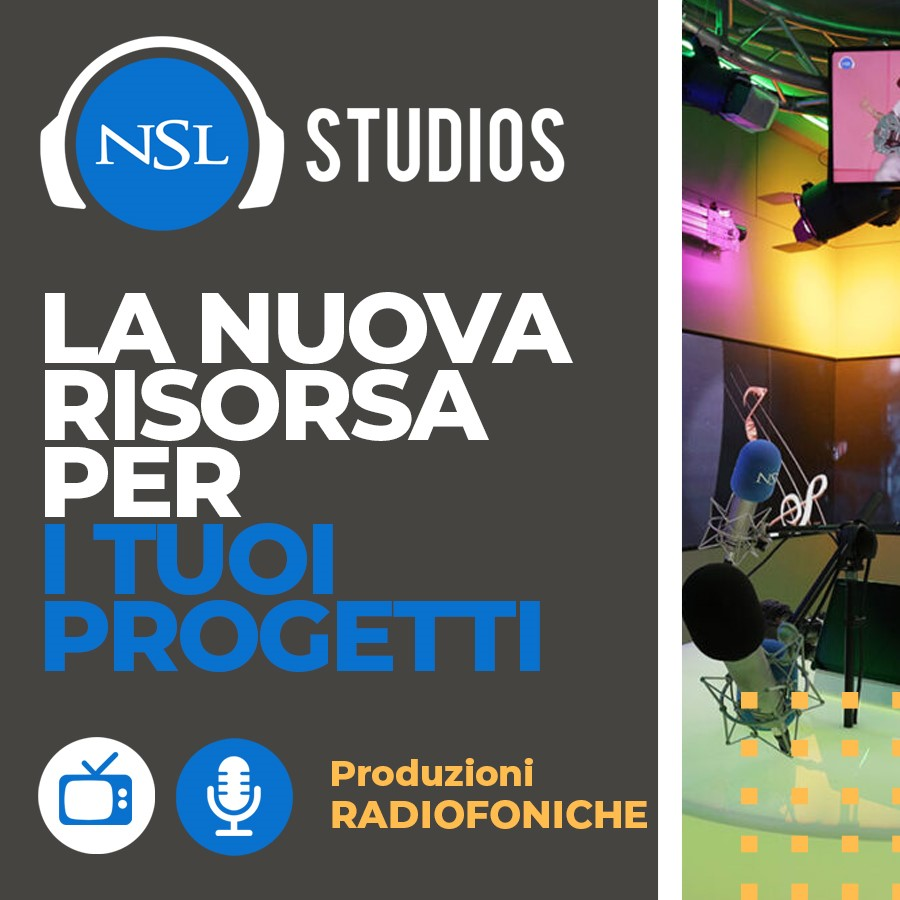 NSL banner 2 - Radio e Tv. Informazione, Art News: l'outsourcing per le news radiotelevisive che guarda alla multipiattaforma, alla visual radio, ai podcast, alle radio in store ed ai brand bouquet