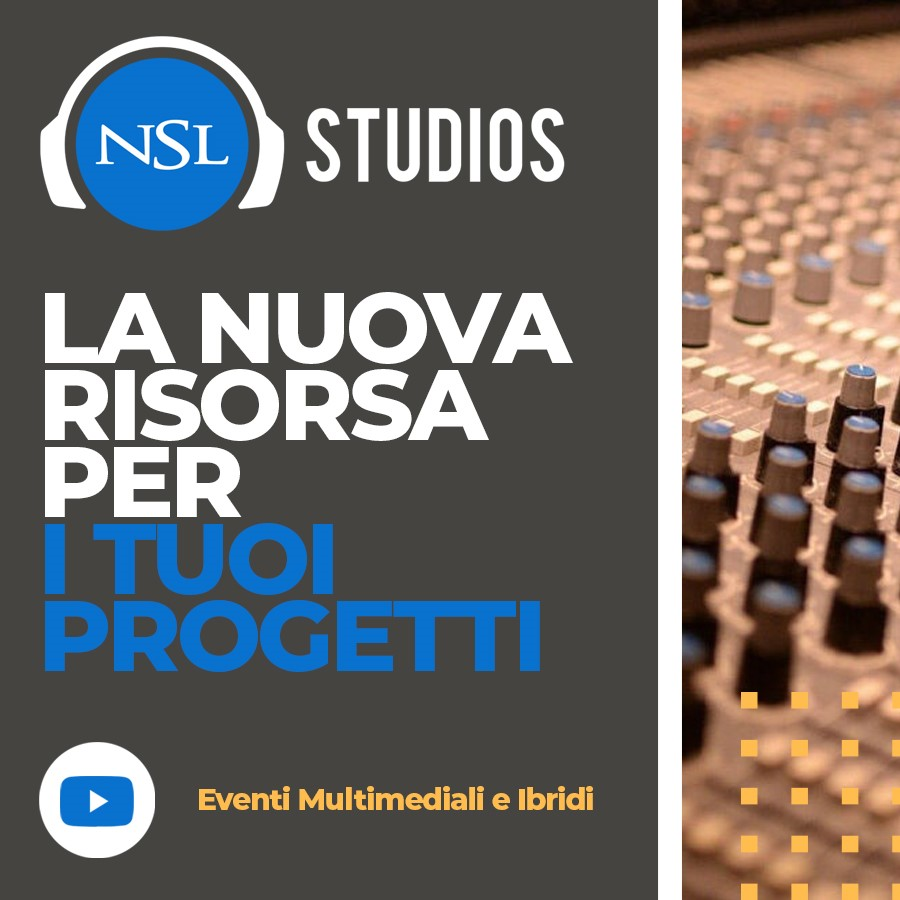 NSL banner 4 - Radio e Tv. Informazione, Art News: l'outsourcing per le news radiotelevisive che guarda alla multipiattaforma, alla visual radio, ai podcast, alle radio in store ed ai brand bouquet