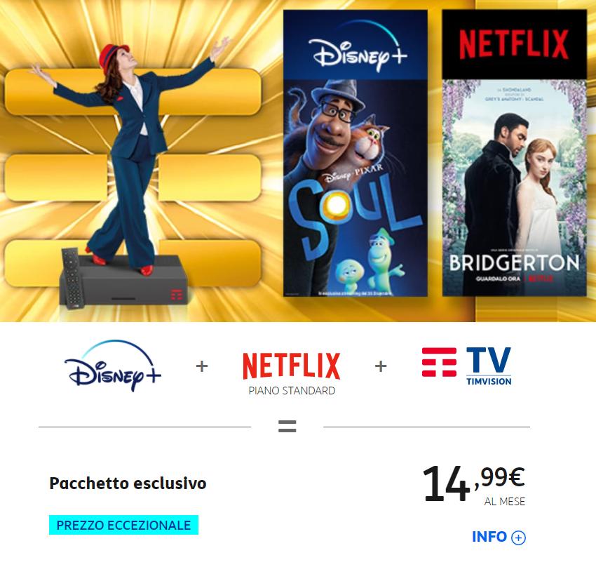 TIMvision - Tv. Target SVOD: demotivare utente ad uscire da account. Dopo Prime Video anche Timvision integra piattaforme terze: approda Discovery+