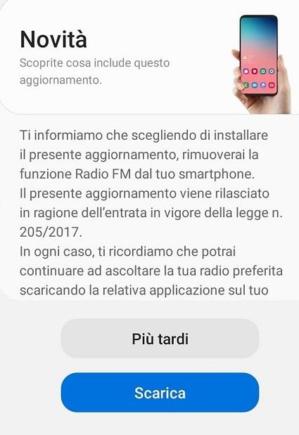 interfaccia radio digitale 2 - Radio. Eliminazione della ricezione FM dagli smartphone. Ecco il parere del Mise sulla questione. L'interpretazione della L 205/2017 con una norma del 1938