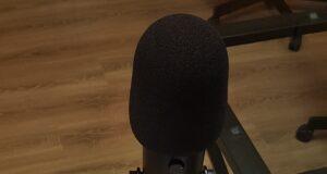 microfono, cuffia, podcast