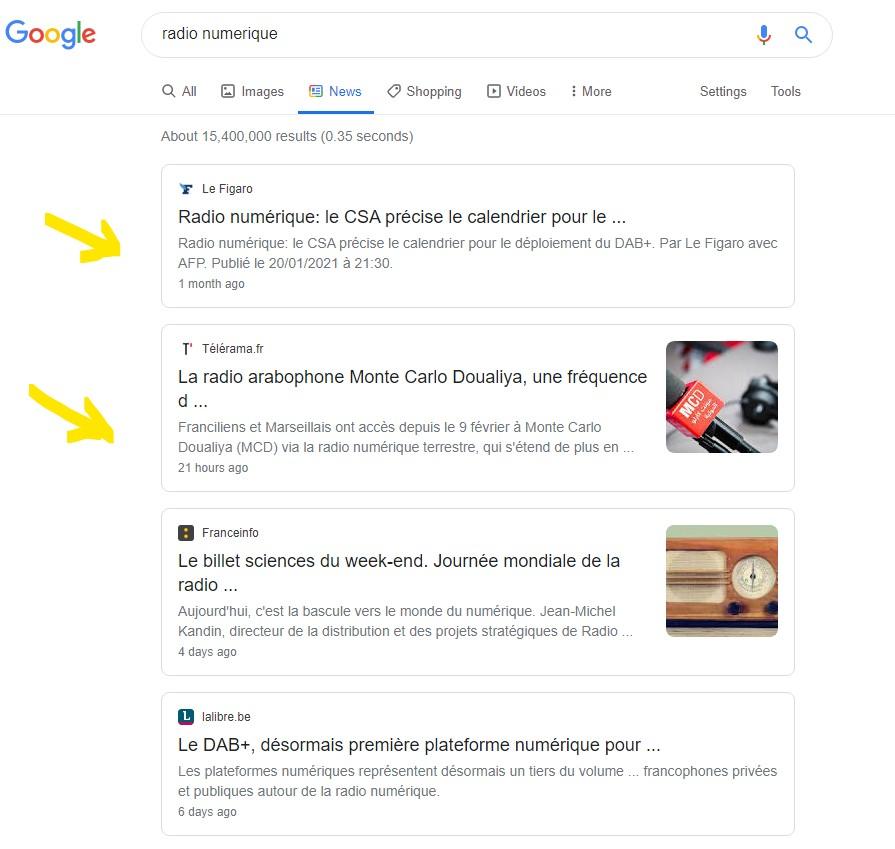 snippets - Editoria. L'accordo francese Google-APIG sullo sfruttamento dei diritti d'autore online modello base per tutti gli editori?