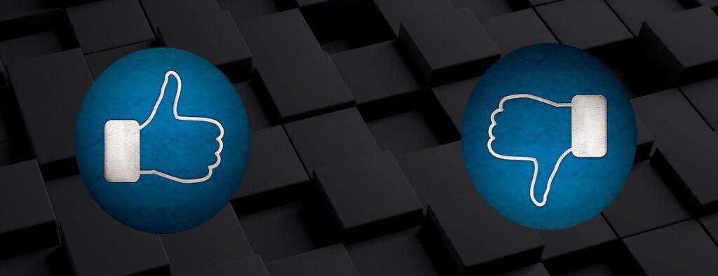 up down 1024x394 - Editoria e web. Il disaccordo australiano tra Facebook e gli editori causa la cancellazione di contenuti dalla piattaforma di Zuckerberg