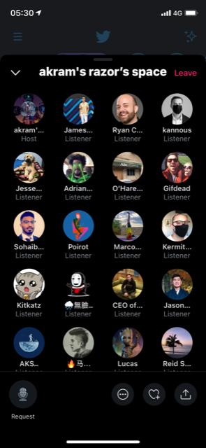 IMG 0998 - Radio & Social. Twitter attiva in Europa Spaces, clone di Clubhouse. Il format a metà tra conferenza e chatroom diventerà uno standard?