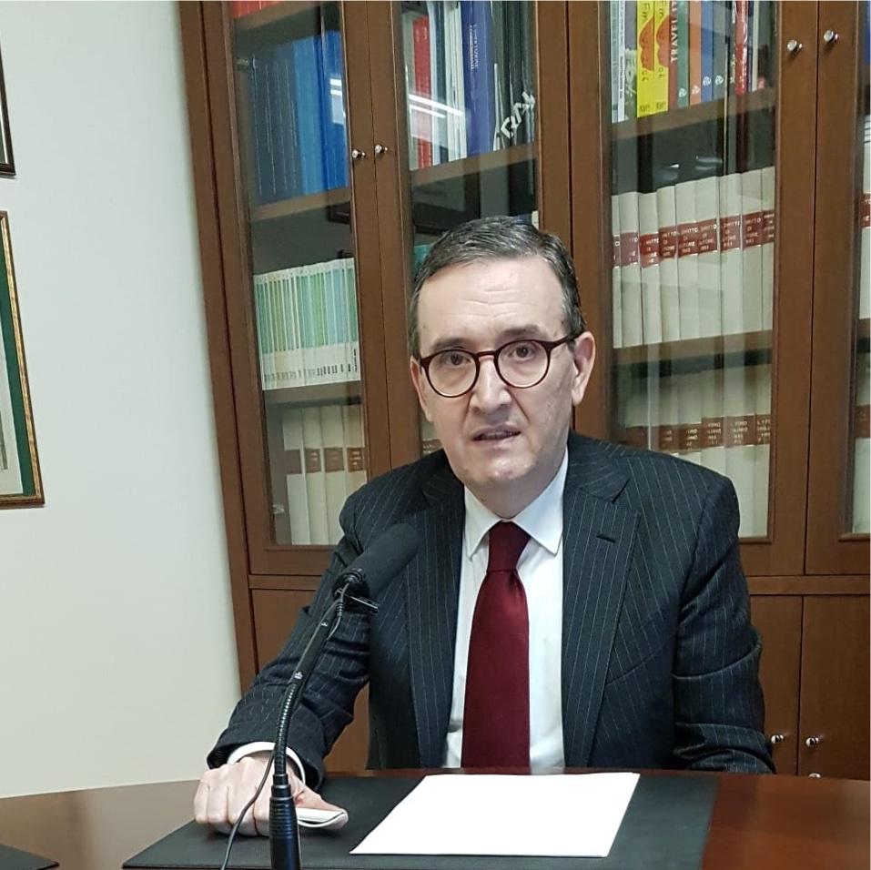 Marco Rossignoli - DTT. Proroga scadenze refarming 700 MHz. Rossignoli: soluzione più ragionevole è passaggio a HEVC da parte delle tv locali a giugno 2022