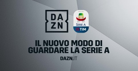 1534543758 dazn seriea - IP TV. DAZN si aggiudica la serie A e si accorda con TIM per la connettività. Ulteriore vittoria dell'IP sulla TV lineare?