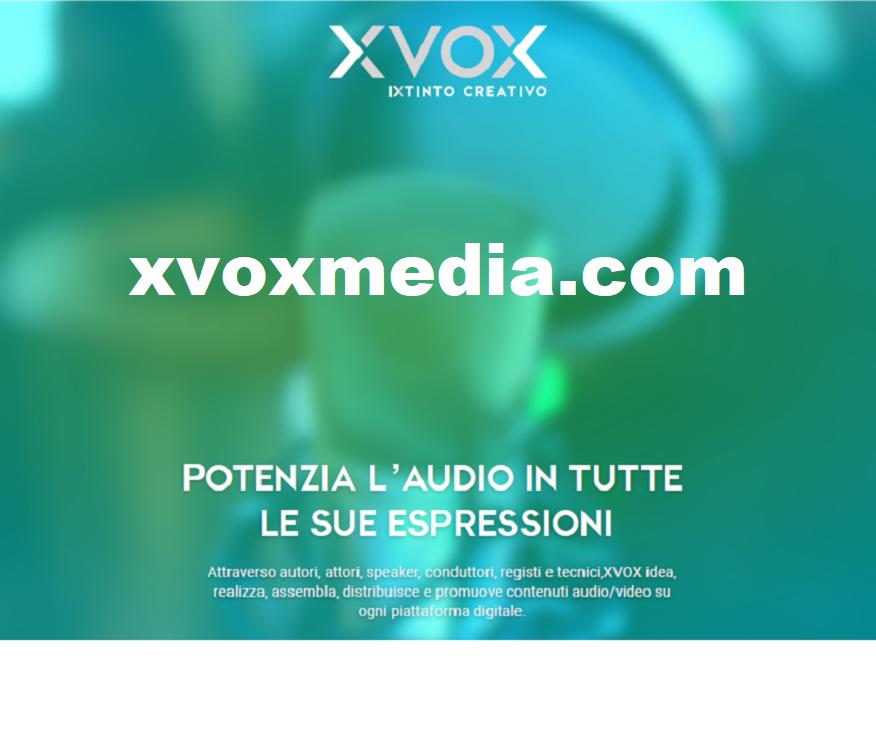 """XVOXMedia banner 1 900x703 1 876x730 - Radio 4.0. La visual radio entra nella sua fase evolutiva. Nuove opportunità professionali, commerciali ed editoriali per chi sa """"vedere"""" oltre l'orecchio"""