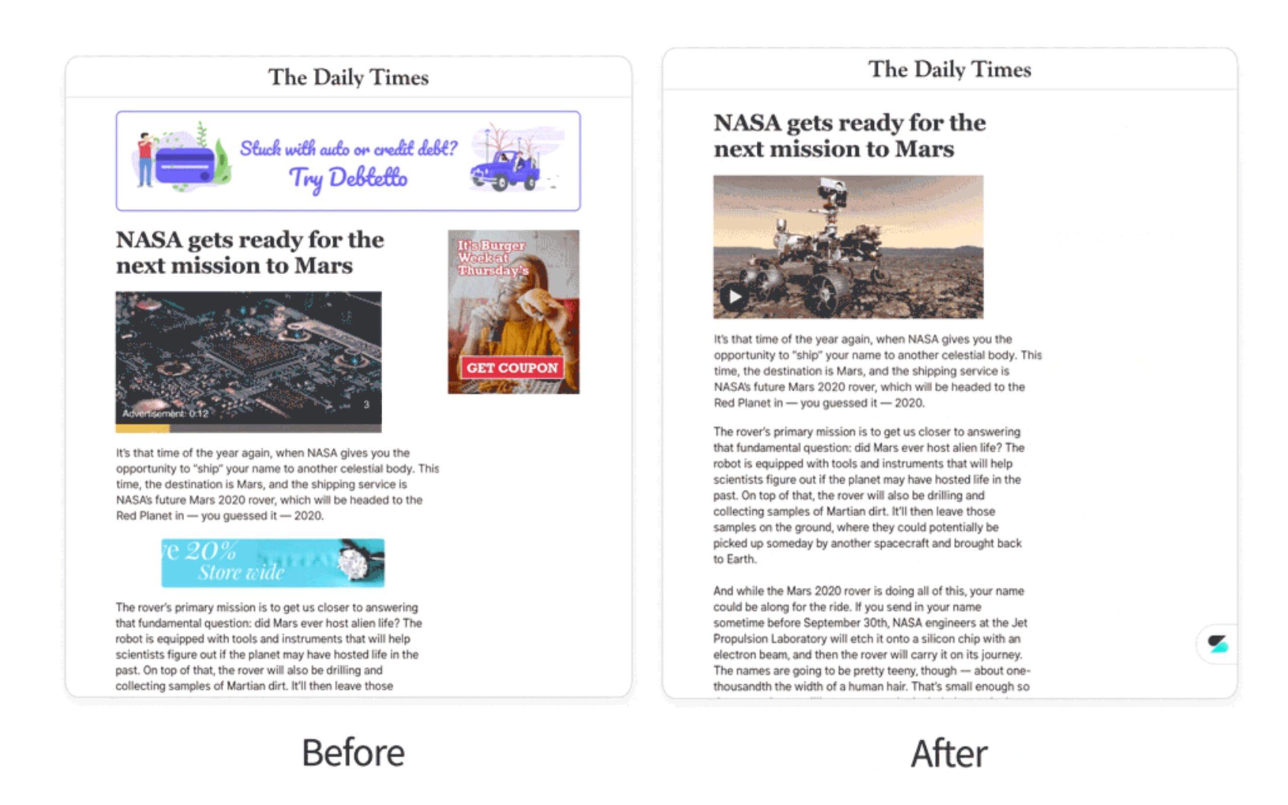 before after scaled - Editoria online. Twitter acquisisce Scroll: un altro passo verso la monetizzazione dei contenuti  in un mondo post cookies
