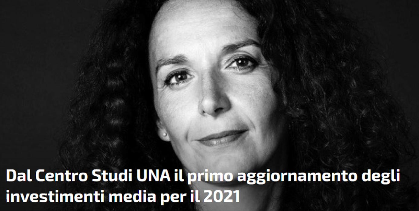 pubblicitario - Media. Centro Studi Una: il mercato pubblicitario nel 2021 tornerà a crescere. Soddisfazioni soprattutto per Cinema, Digital e Radio