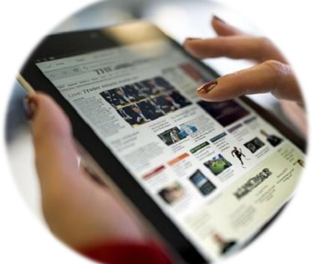 tablet 636x536 - Editoria online. Ricerca Comscore marzo 2021: aumenta il numero di utenti unici sui siti di news. Il 95% dei fruitori di internet si informa online.