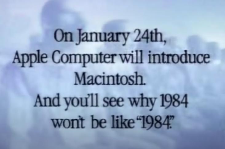 1984 - Web. In nome della lotta alla pedofilia, Apple si pone come poliziotto e delatore rispetto ai propri clienti. Ribaltando in un attimo anni di attenzione alla protezione della privacy