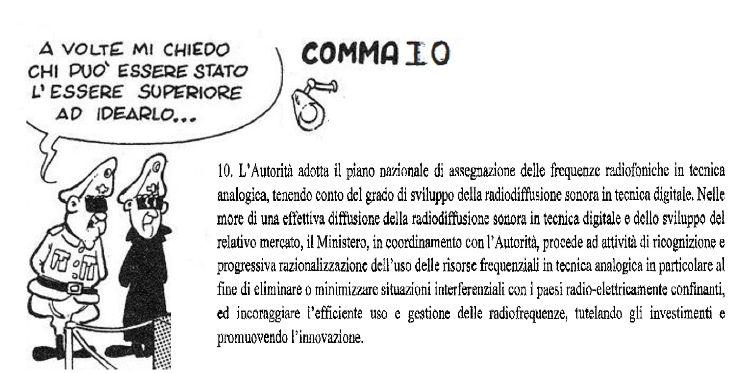 comma 10, futuro