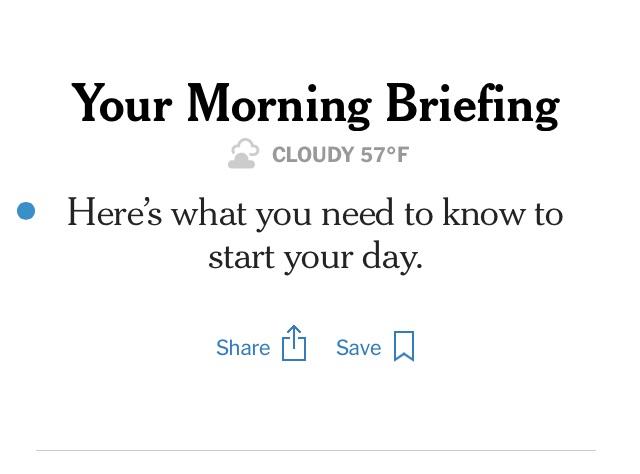 newsletter - Editoria. Il New York Times rilancia il format della newsletter: non più solo un avviso ma un nuovo tipo di approfondimento