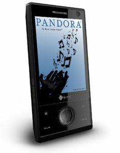 Pandora su smartphone 236x300 - Tecnologie. Musica: toh, torna il disco. Quando il desiderio della fisicità supera le comodità virtuali